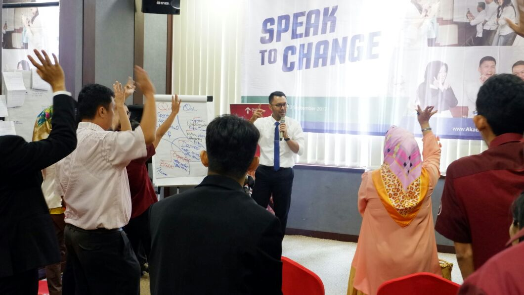 Speak To Change Ciputra - CORPORATE TRAINING INDONESIA