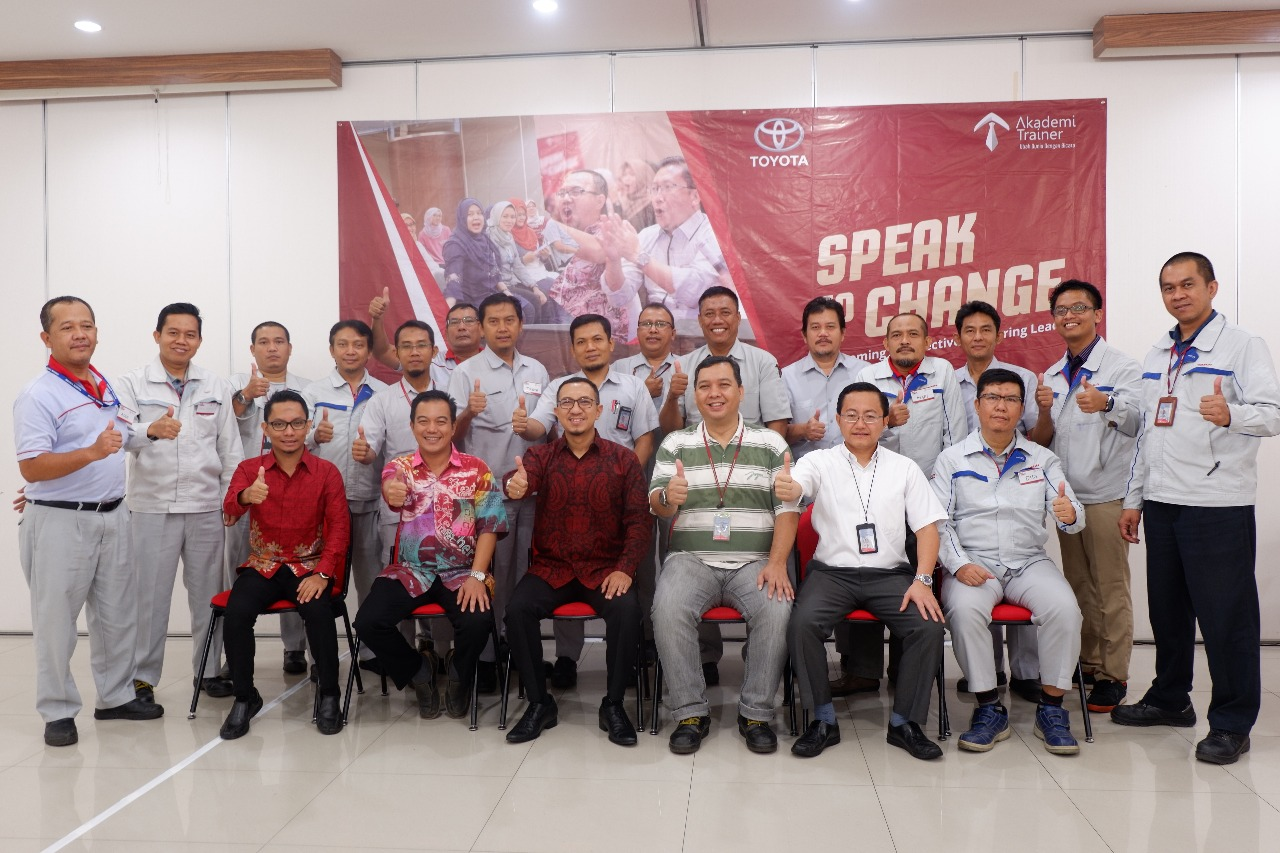 Speak To Change Toyota - CORPORATE TRAINING INDONESIA