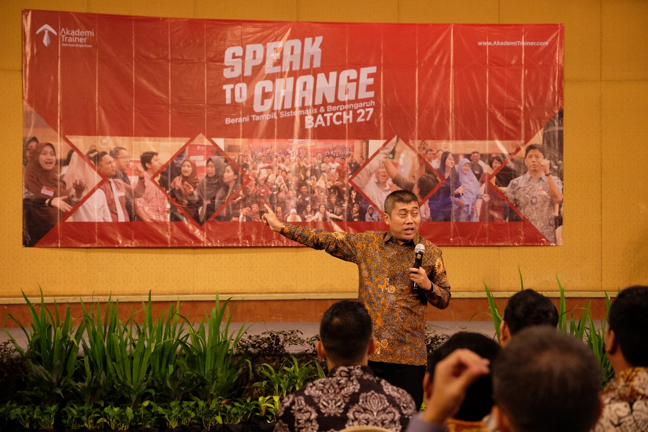Upgrade Potensi Diri Melalui Speak To Change Batch 27 Corporate Training Indonesia