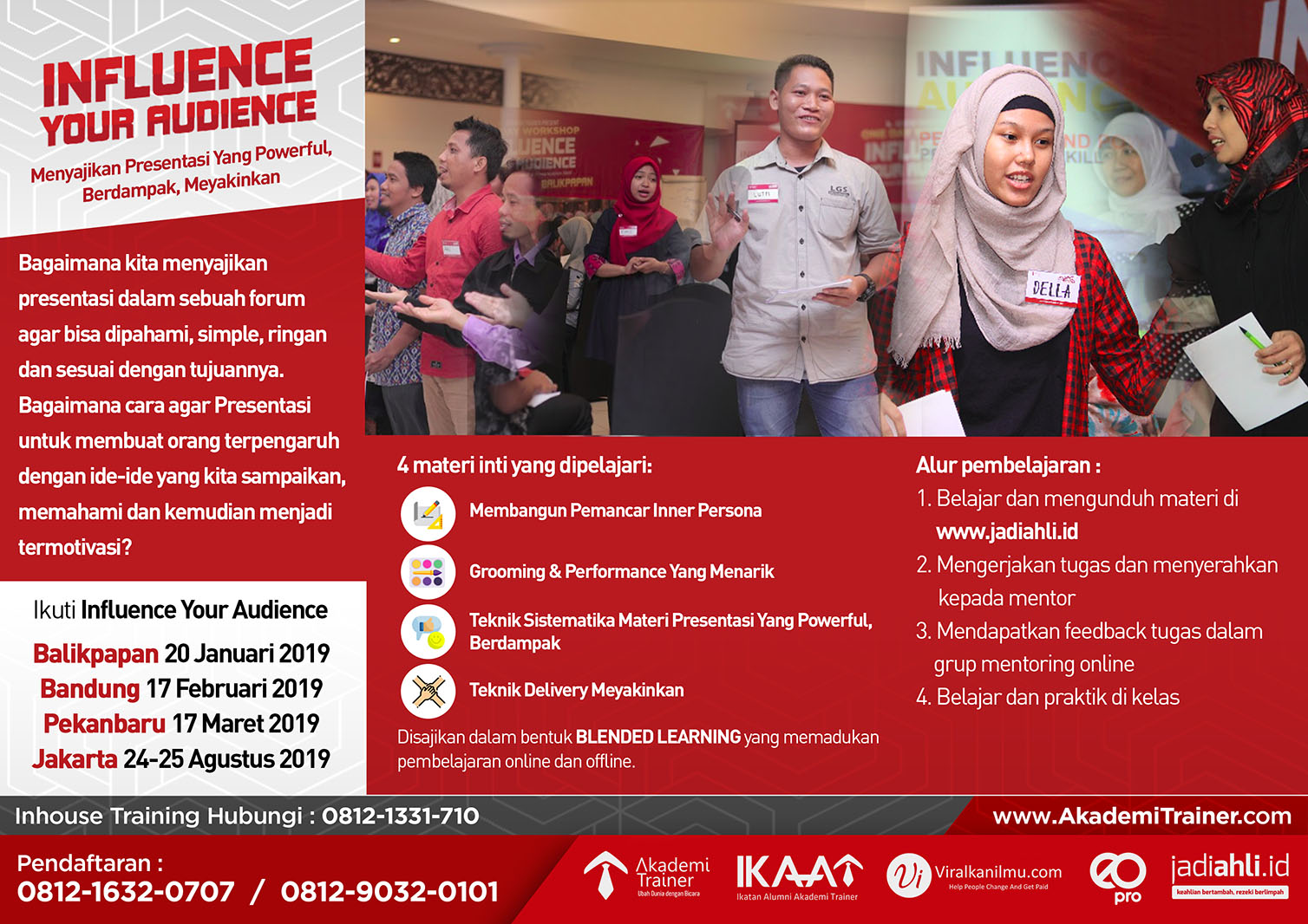 Influence Your Audience roadshow