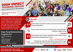 High Impact Training Design 2019